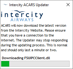 Intercity ACARS User Manual